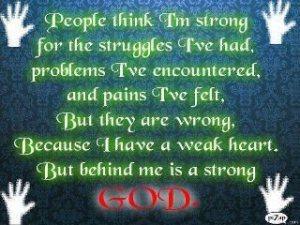 strength god